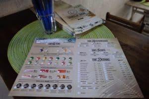 Uncle Van menu