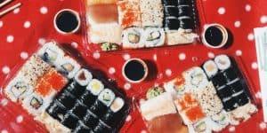 Sushi from Asia Wok-Man