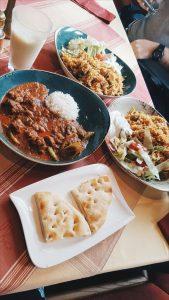Bella Vita, Pakistani Food