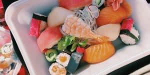 Sushi from Tokyo Bay