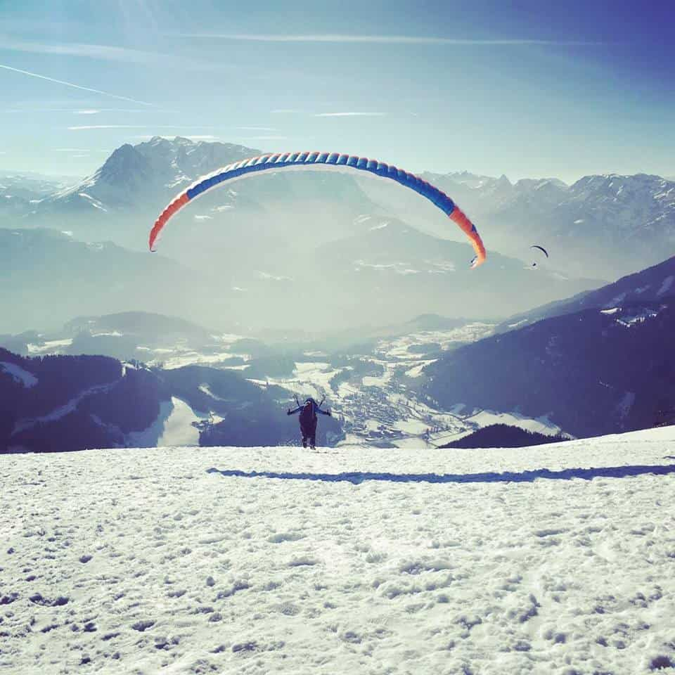 Paragliding around Salzburg