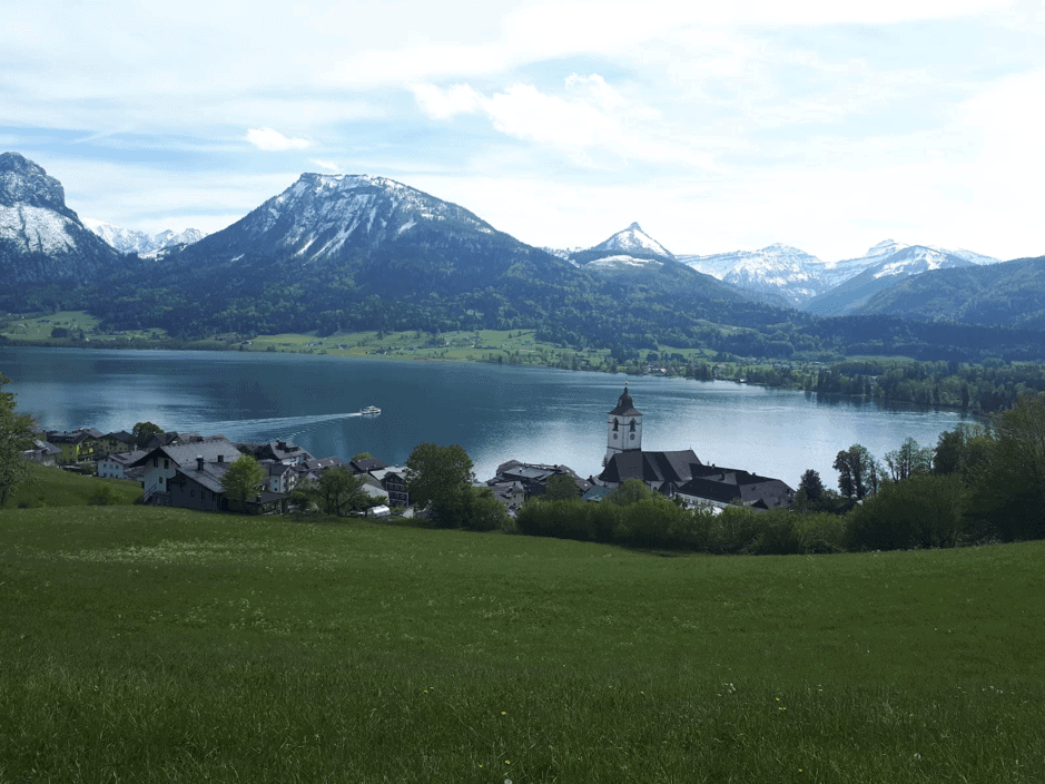 St. Wolfgang, View, Lake